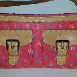 NEW DOONEY & BOURKE Pink Two Pocket Bag